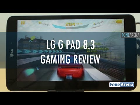 LG G Pad 8.3 Google Play Edition Gaming Review