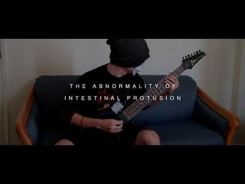 Abdominal Rupture - The Abnormality Of Intestinal Protusion (Guitar Play-Through by Slashmouth)