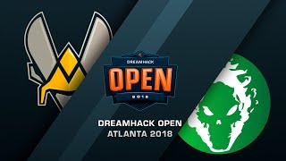 Vitality vs Fragsters - DreamHack Open Atlana 2018 - bo3, game 1 - de_dust2 [Enkanis]