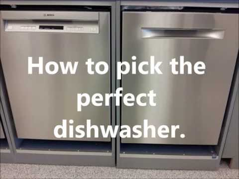 how to measure a dishwasher size
