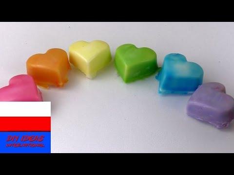 Tęczowe mydło   eksperyment   farbowanie bydła barwnikami spożywczymi   kolory podstawowe i pochodne