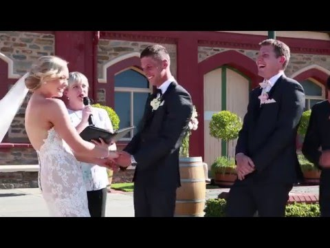 WATCH: Kid stops wedding because he had to do this...