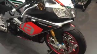7. 2016 Aprilia RSV4 RF Racing Factory Superbike EXPO Brussels