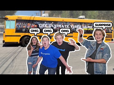 SURPRISING MY FRIENDS With A $100,000 GAMING BUS **Epic Reaction** |Hayden Haas