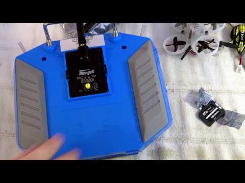 iRangeX IRX4+ unboxing, PPM and serial testing with Taranis X7S