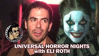 Eli Roth takes us on a Universal Horror Nights 2016 Tour (Exclusive) by JoBlo Movie Trailers