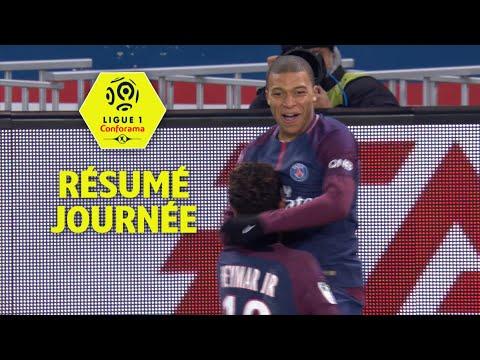Résumé de la 21ème journée - Ligue 1 Conforama / 2017-18