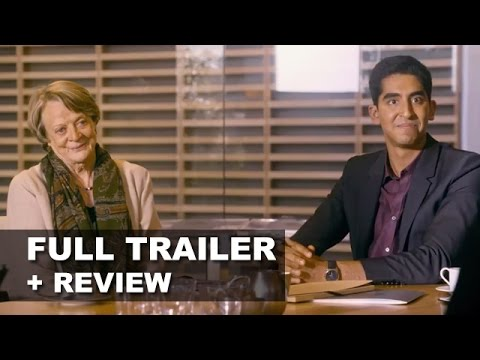 The Second Best Exotic Marigold Hotel Official Trailer + Trailer Review : Beyond The Trailer