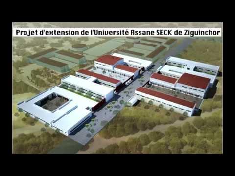 Extension de l'Université Assane Seck de Ziguinchor