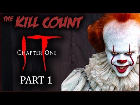 IT (2017) [PART 1 of 2] KILL COUNT (видео)