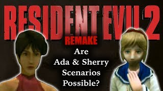 Ada & Sherry's Roles In RE2 RemakeNew Scenarios? More Back Story? Unlockables?Subscribe: https://goo.gl/HAvfDUWith Resident Evil 2 Remake eventually coming out (we are pretty sure), one of the things that pops up when thinking about the possible expanded storylines is what the roles of classic Resident Evil characters Ada Wong and Sherry Birkin will be. The original Remake added new story aspects to both the game and the canon, but will Capcom do the same to this 1998 masterpiece? And if so, how will they do it? Are more changes coming?RESIDENT EVIL 2 REMAKETHEORY: Ada & Sherry ► https://goo.gl/mzFYqLTHEORY: Scenarios ► https://goo.gl/33E7nsTHEORY: Co-op ► https://goo.gl/zmucwuTHEORY: New Scenarios? ► https://goo.gl/843iTyCHANGES: New Camera Angles ► https://goo.gl/VsPMN7CHANGES: New Game Engine ► https://goo.gl/rECNKFCHANGES: New Character Models ► https://goo.gl/LCgPPZCHANGES: New Voice Actors ► https://goo.gl/VoiSPtSummary Of What We Know ► https://goo.gl/JNUyWYWhy Wasn't RE2 Remake At E3? ►  https://goo.gl/xd1yN4WHERESBARRY ON SOCIAL MEDIATwitter ► http://www.twitter.com/wheresbarryBFacebook ► http://goo.gl/nHTBQ9Instagram ►https://www.instagram.com/wheresbarrybCLIPS/SOURCESVideo game clips were used from various games including: Resident Evil 2, Resident Evil 6 and Resident Evil Darkside ChroniclesResident Evil Youtube Announcement: https://www.youtube.com/watch?v=ZcW6W-xVl-8&t=6sResident Evil 2 Wiki: http://residentevil.wikia.com/wiki/Resident_Evil_2/plotMUSICI Knew a Guy by Kevin MacLeod is licensed under a Creative Commons Attribution license (https://creativecommons.org/licenses/by/4.0/)Source: http://incompetech.com/music/royalty-free/index.html?isrc=USUAN1100199Artist: http://incompetech.com/