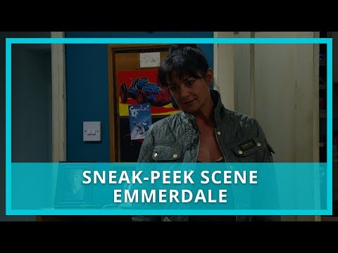 Emmerdale spoilers: Moira has news for Ross about Rebecca - watch the scene