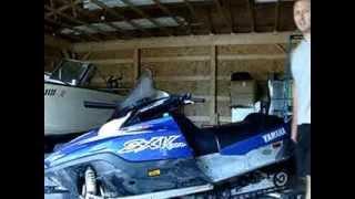 4. 2003 Yamaha SX Viper 700 triple