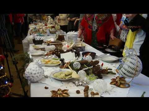 Międzynarodowa prezentacja stołów wigilijnych