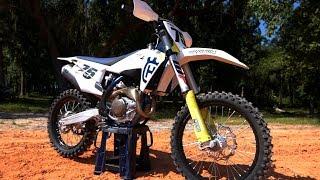 4. First Ride 2019 Husqvarna FC450 - Motocross Action Magazine