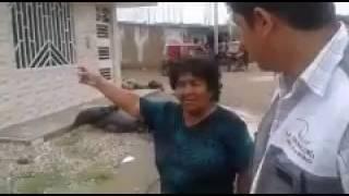 Auditores de Contraloría verifican que ayuda humanitaria llegue a damnificados en Olmos