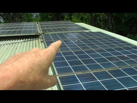 Off the Grid House in Hawaii, Part 1; Solar Power System