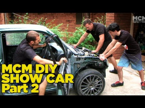 build - In this episode of Mighty Car Mods the boys strip down the car ready for paint. They head off to a very special shop to buy some wheels and the car ends up i...
