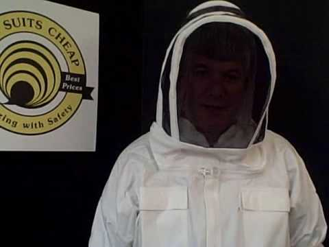 Hooded Bee Jacket, Bee Suits and Jackets – Dont Get Stung