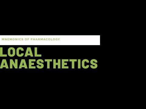 Simple tricks(mnemonics) to learn local anaesthetics