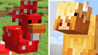 We Added 10 Minecraft Earth Mobs to Minecraft