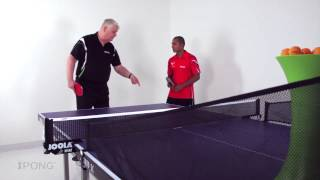 iPong Table Tennis Master Series: Transitioning Topspin Strokes