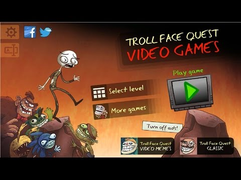 ► Troll Face Quest Video Games bY Spil Games  All Level Android Ios Gameplay Walkthrough