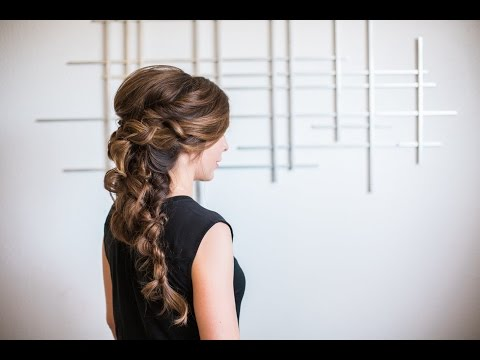 Romantic Ropebraided Hair Tutorial
