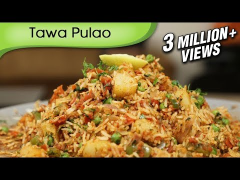 Tawa Pulao – Indian Rice Variety – Spicy Maincourse Rice Recipe By Ruchi Bharani