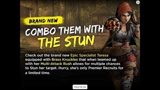 Walking Dead : Road to Survival - NEW EPIC TERESA PACK OPENING - SUPER STUN!!!