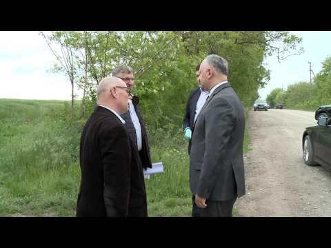 Игорь Додон ознакомился с деятельностью двух аграрных предприятий Глодянского района