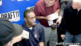 Kemba Walker - 2011 NBA Draft - Media Day Interview