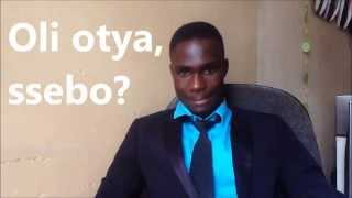 In this lesson of Learn Luganda you will learn the basics of modern spoken Luganda taught by a native speaker. Visit our website www.learn-luganda.com and ...