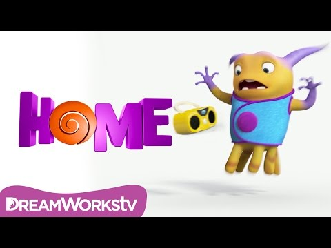 Home (2015) (Viral Clip 'Earth Objects Test: Boombox')