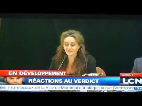 Réactions: Turcotte accusé de meurtre