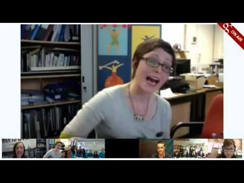 Google Wissenschaft Fair Hangout mit Festival des gesprochenen Sonderlings