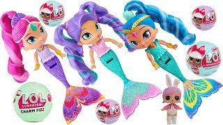 Shimmer and Shine Mermaid Dolls