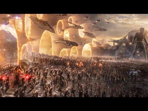 Avengers Endgame - Portal Scene 1080p HD