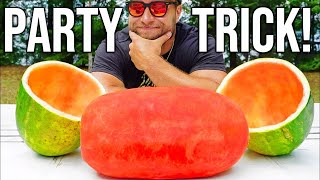 Video AMAZING Watermelon Party Trick! MP3, 3GP, MP4, WEBM, AVI, FLV Juli 2018