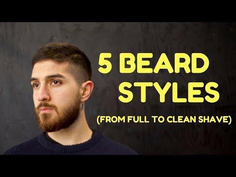 5 BEARD STYLES (W/ REACTIONS) !