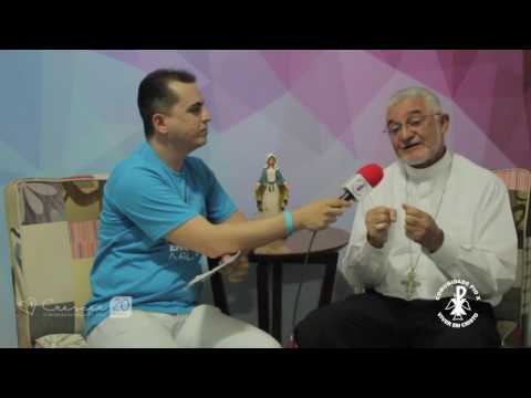 Crescer 2017 - O Bispo diocesano Dom Manoel Delson concede entrevista para o #ConexãoCrescer