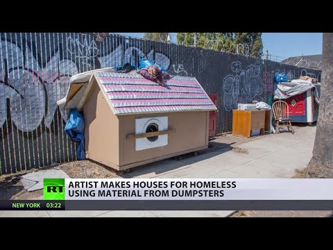 Helping Homeless: Artist comes up with housing solution in California