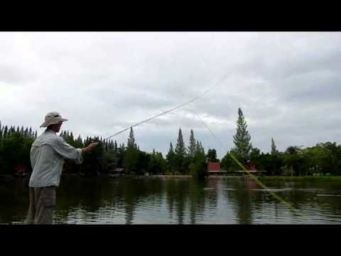 Pond Fly Fishing with Two-handed Rod – Perry Poke