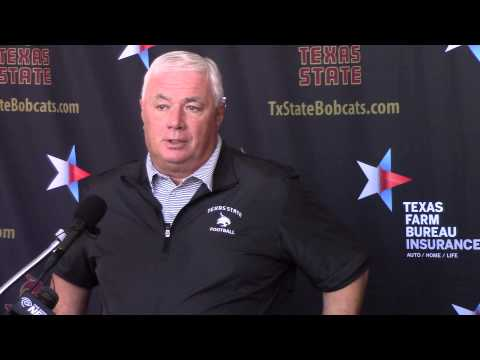 Texas State Head Football Coach Dennis Franchione