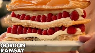 Raspberry Millefeuille Gordon Ramsay