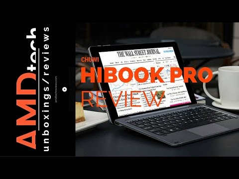 Chuwi HiBook Pro Review:  Fully Laminated 2560 x 1600 Dual Boot 2-in-1 Tablet PC