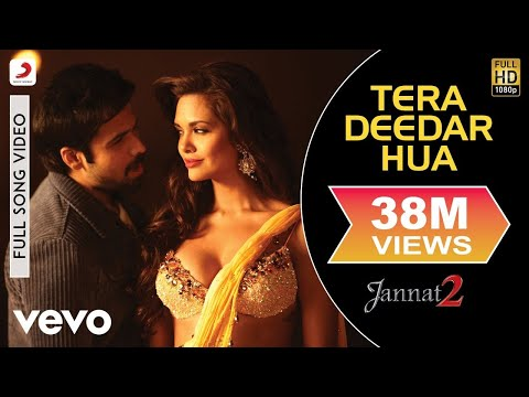 Tera Deedar Hua Full Video - Jannat 2|Emraan Hashmi, Esha|Rahat Fateh Ali Khan|Pritam