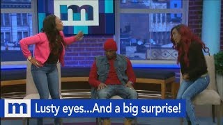 Lusty eyes...And a big surprise! | The Maury Show