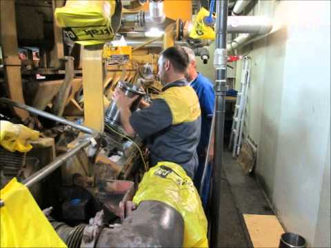 Caterpillar 3516E Overhaul