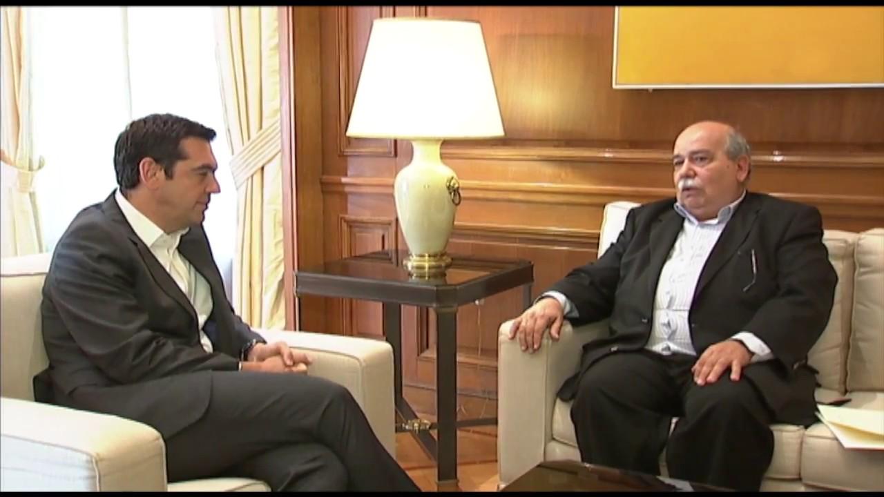 Συνάντηση με τον κ. Νίκο Βούτση για την συμφωνία στο Eurogroup και το Κυπριακό